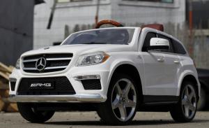 Masinuta electrica Mercedes GL63 4x4 DELUXE #ALB3