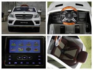 Masinuta electrica Mercedes GL63 4x4 DELUXE #ALB6