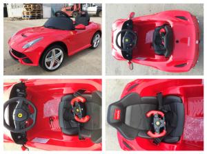 Masinuta electrica Ferrari F12 1x 25W STANDARD 12V #Rosu7