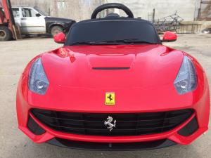 Masinuta electrica Ferrari F12 1x 25W STANDARD 12V #Rosu2