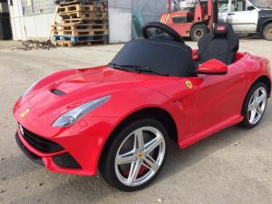 Masinuta electrica Ferrari F12 1x 25W STANDARD 12V #Rosu1