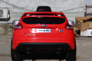 Masinuta electrica Ford Focus RS CU ROTI MOI #Rosu5