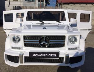 Masinuta electrica Mercedes G63 AMG, PREMIUM #ALB1