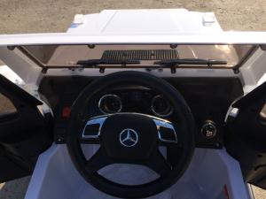 Masinuta electrica Mercedes G63 AMG, PREMIUM #ALB7
