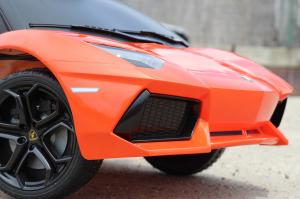 Masinuta electrica Lamborghini Aventador LP 700-4 STANDARD #Portocaliu5