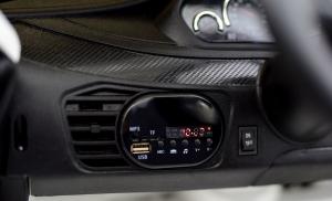 Masinuta electrica BMW X6M 2x35W STANDARD #Alb7