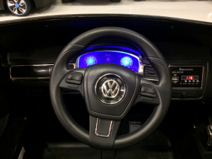 Masinuta electrica VW Touareg CU ROTI MOI 2x 35W 12V #ALB8