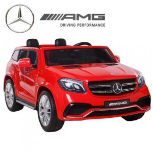 Masinuta electrica Mercedes GLS63 AMG 4x4 PREMIUM 24V #Rosu0