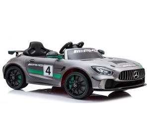 Masinuta electrica copii 2-5 ani Mercedes GT-R gri [0]