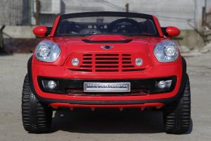 Kinderauto Mini Comberman STANDARD cu 2 locuri #Rosu2