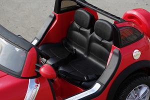 Kinderauto Mini Comberman STANDARD cu 2 locuri #Rosu5