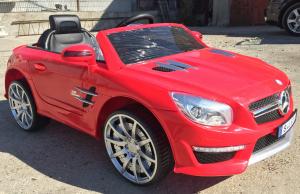 Kinderauto Mercedes SL63 AMG STANDARD 12V #Rosu3