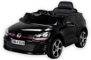 Masinuta electrica VW Golf GTI 2x30W 12V STANDARD #Negru0