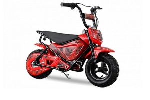Mini Motocicleta electrica pentru copii NITRO ECO Flee 250W #Rosu0