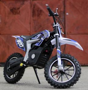 Mini Motocicleta Eco Ghepard 500W 24V #Albastra3