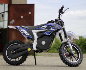 Mini Motocicleta Eco Ghepard 500W 24V #Albastra4