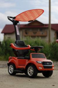 Carucior electric pentru copii 3 in 1 Ford Ranger STANDARD #Orange2