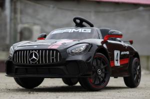 Kinderauto Mercedes GT-R 2x25W STANDARD #Negru2
