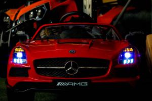 Masinuta electrica Mercedes SLS AMG PREMIUM #Rosu4