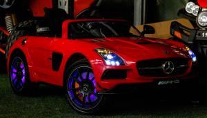 Masinuta electrica Mercedes SLS AMG PREMIUM #Rosu5