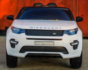 Masinuta electrica Land Rover Discovery DELUXE cu Touchscreen Mp4 #ALB1