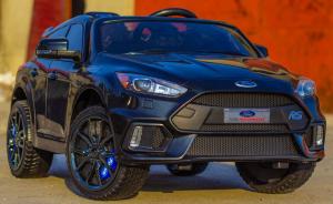 Masinuta electrica Ford Focus RS CU ROTI MOI #Negru1