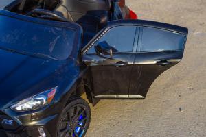 Masinuta electrica Ford Focus RS CU ROTI MOI #Negru4