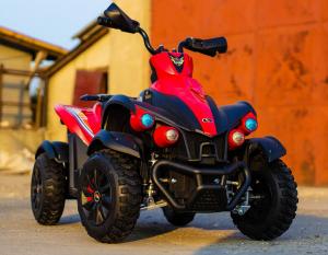 ATV EVA - Quad electric pentru copii 2x 45W 12V #Rosu2
