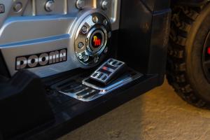 ATV Electrica pentru copii Dooma EVA - Quad 2x 45W 12V #Rosu7