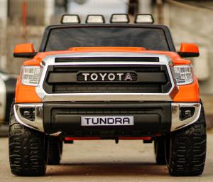 Masinuta electrica Toyota Tundra 2x45W PREMIUM #Portocaliu1
