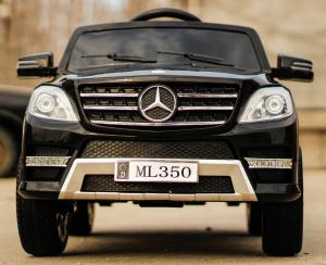 Masinuta electrica Mercedes ML350 2x25W STANDARD 12V #Negru2