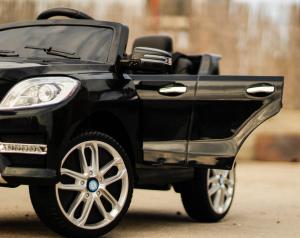 Masinuta electrica Mercedes ML350 2x25W STANDARD 12V #Negru3