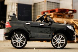 Masinuta electrica Mercedes ML350 2x25W STANDARD 12V #Negru5