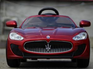 Masinuta electrica Maserati Kids CU ROTI MOI 2x 35W 12V #Rosu1
