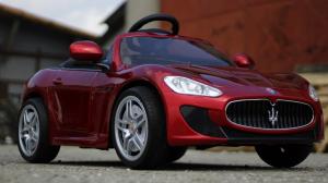 Masinuta electrica Maserati Kids CU ROTI MOI 2x 35W 12V #Rosu2