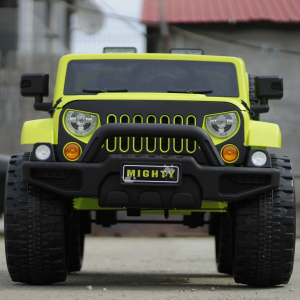 Masinuta electrica JeeP Outdoor 12V STANDARD #Verde [1]