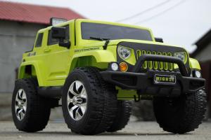 Masinuta electrica JeeP Outdoor 12V STANDARD #Verde [2]