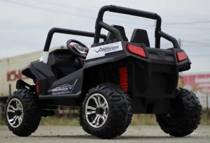 UTV electric pentru copii Golf-Kart 4x45W 2x12V PREMIUM #ALB4