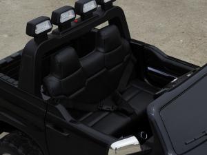 Masinuta electrica Toyota Tundra 2x45W PREMIUM #Negru6