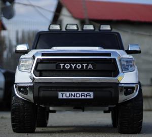 Masinuta electrica Toyota Tundra 2x45W PREMIUM #Alb1