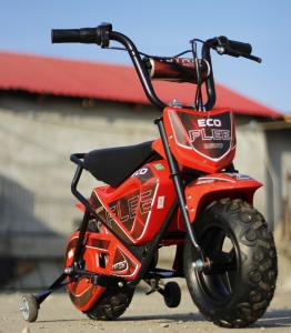 Mini Motocicleta electrica pentru copii NITRO ECO Flee 250W #Rosu1