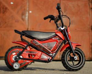 Mini Motocicleta electrica pentru copii NITRO ECO Flee 250W #Rosu2