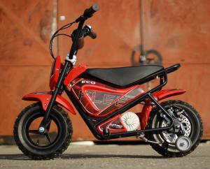 Mini Motocicleta electrica pentru copii NITRO ECO Flee 250W #Rosu5