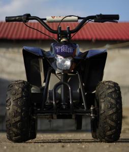 Mini ATV electric Pentru copii NITRO Eco Trio Quad 350W 24V #Albastru1