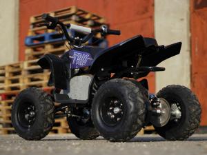 Mini ATV electric Pentru copii NITRO Eco Trio Quad 350W 24V #Albastru3