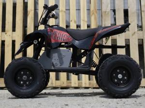 Mini ATV electric Pentru copii NITRO Eco Trio Quad 350W 24V #Rosu5