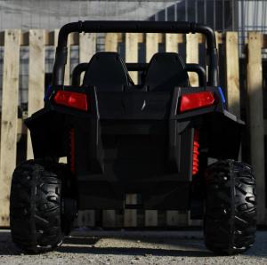 UTV electric pentru copii Golf-Kart 4x4 180W  PREMIUM #Albastru3