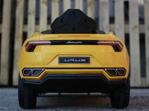 Masinuta electrica Lamborghini Urus CU SCAUN TAPITAT 12V #Galben4