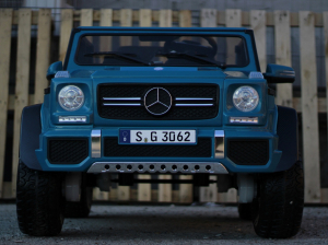 Masinuta electrica Mercedes G650 180W MAYBACH DELUXE #Albastru1