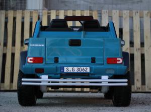 Masinuta electrica Mercedes G650 MAYBACH DELUXE #Albastru4